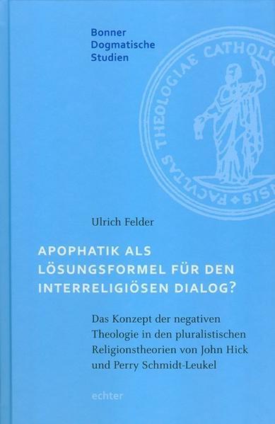 Apophatik als Lösungsformel für den interreligiösen Dialog? - Coverbild