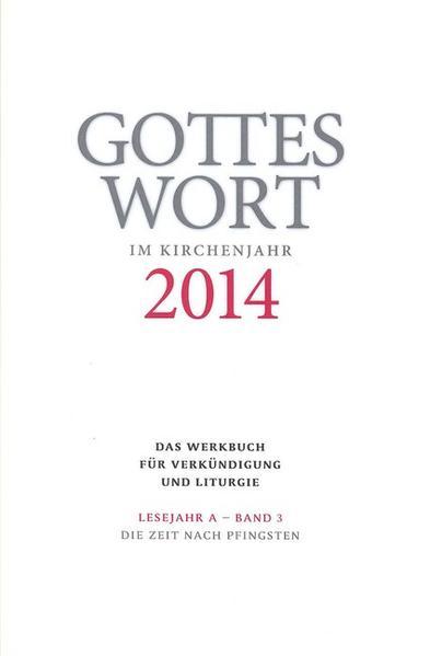 Gottes Wort im Kirchenjahr - Coverbild