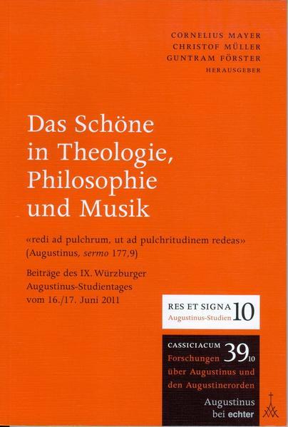 Das Schöne in Theologie, Philosophie und Musik - Coverbild
