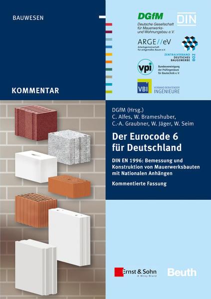 Der Eurocode 6 für Deutschland - Coverbild