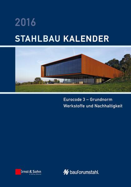 Stahlbau-Kalender / Stahlbau-Kalender 2016 - Coverbild