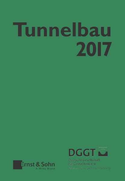 Taschenbuch für den Tunnelbau 2017 - Coverbild