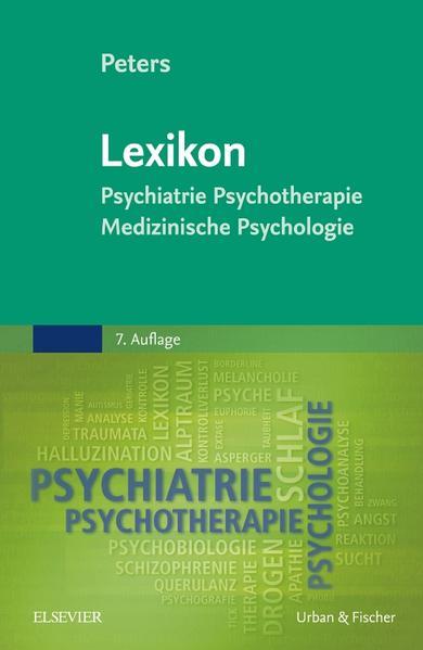 Lexikon Psychiatrie, Psychotherapie, Medizinische Psychologie - Coverbild