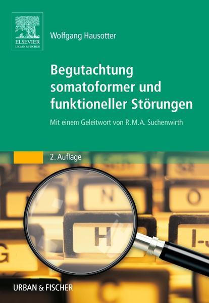 Begutachtung somatoformer und funktioneller Störungen - Coverbild
