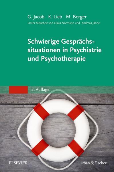 Schwierige Gesprächssituationen in Psychiatrie und Psychotherapie - Coverbild