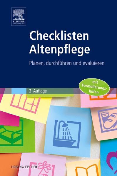 Checklisten Altenpflege - Coverbild