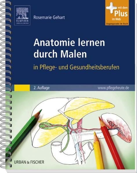 Anatomie lernen durch Malen - Coverbild