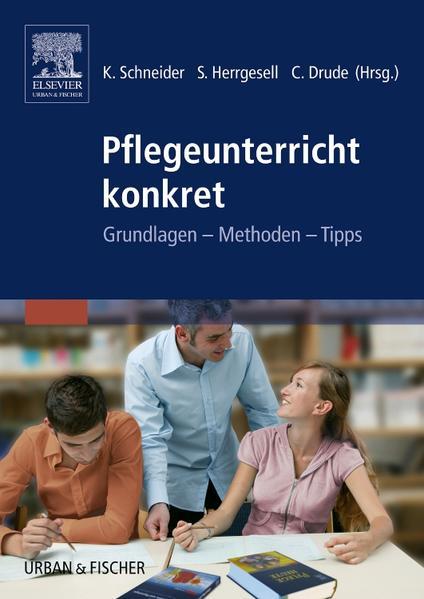 Pflegeunterricht konkret - Coverbild