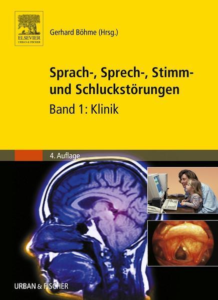Sprach-, Sprech-, Stimm- und Schluckstörungen - Coverbild