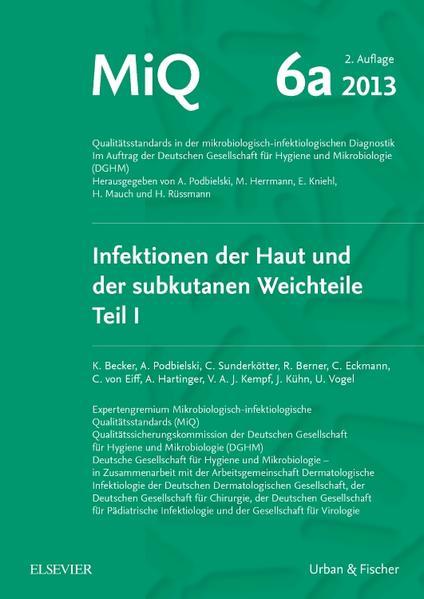 MIQ 06a: Infektionen der Haut und der subkutanen Weichteile - Coverbild