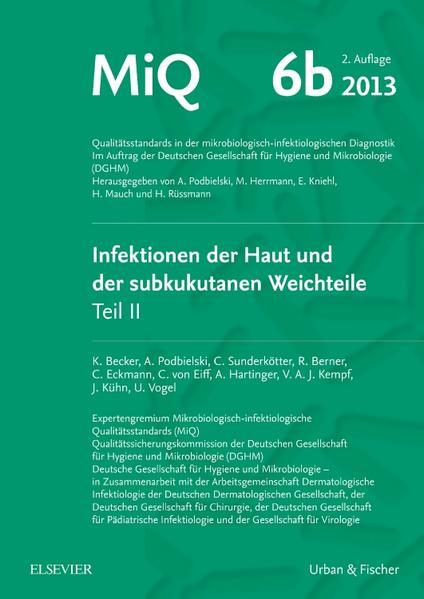 MIQ 06b: Infektionen der Haut und der subkutanen Weichteile - Coverbild
