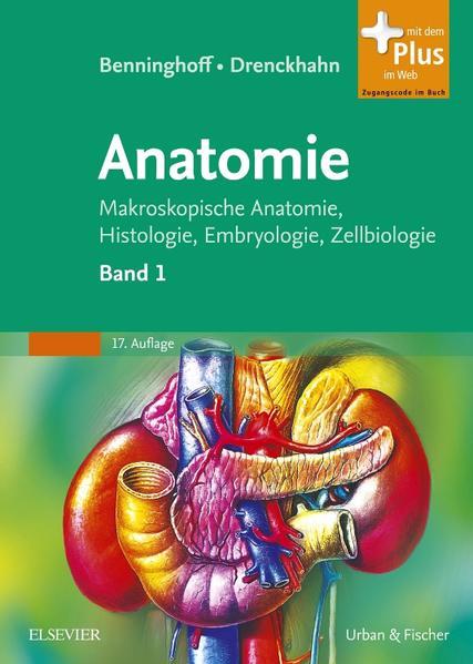 Benninghoff, Drenckhahn, Anatomie - Coverbild