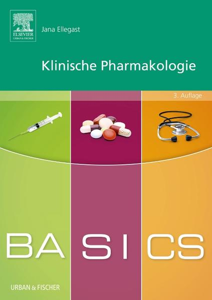 BASICS Klinische Pharmakologie - Coverbild