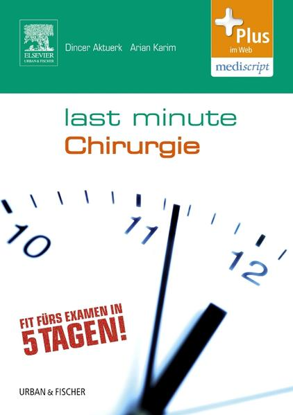 Last Minute Chirurgie - Coverbild