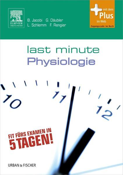 Last Minute Physiologie - Coverbild