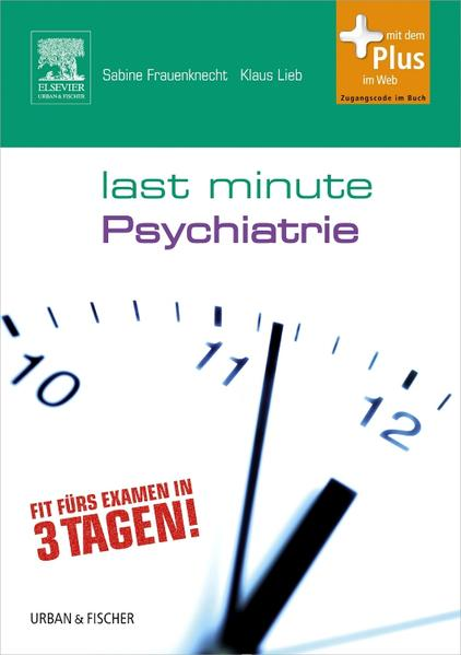 Last Minute Psychiatrie - Coverbild