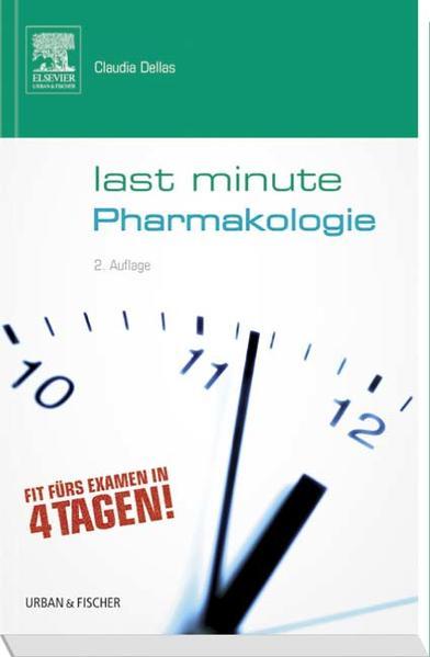 Last Minute Pharmakologie - Coverbild
