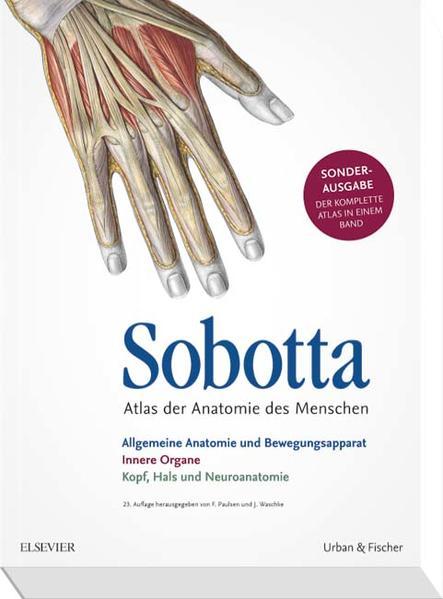 Sobotta Atlas der Anatomie Sonderausgabe in einem Band - Coverbild