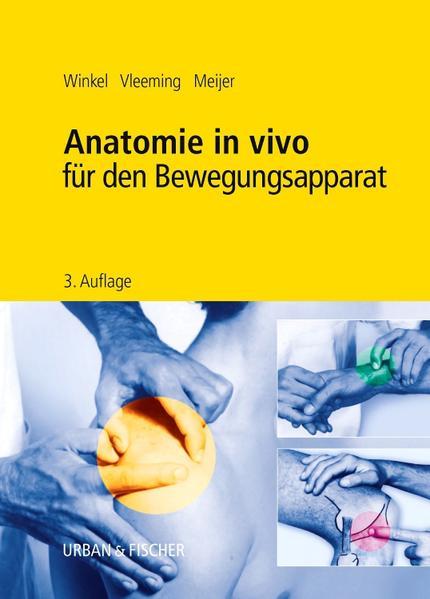 Anatomie in vivo für den Bewegungsapparat - Coverbild