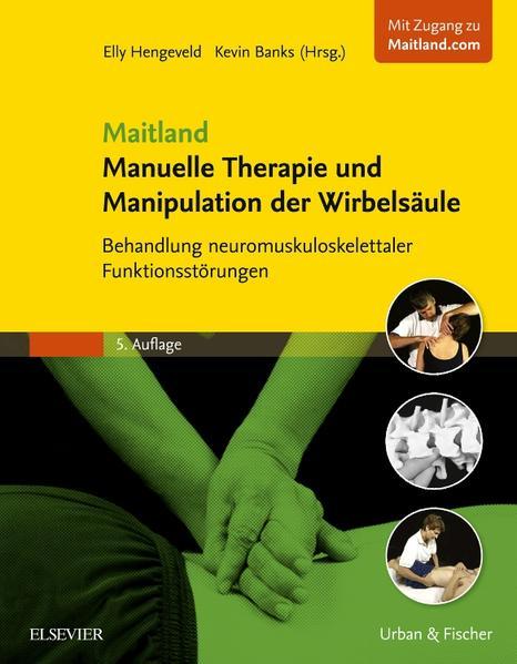 Maitland Manuelle Therapie und Manipulation der Wirbelsäule - Coverbild