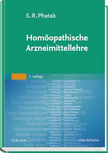 Homöopathische Arzneimittellehre 5.A. - Coverbild