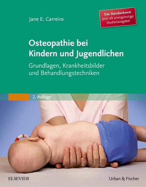 Osteopathie bei Kindern und Jugendlichen Studienausgabe - Coverbild