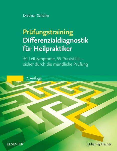 Prüfungstraining Differenzialdiagnostik für Heilpraktiker - Coverbild