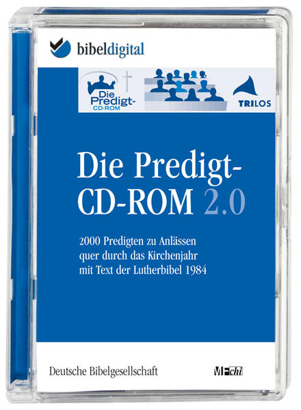 Die Predigt-CD-ROM 2.0 - Coverbild