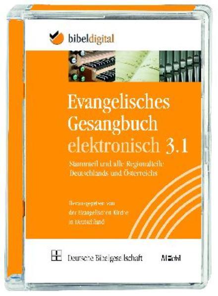 Evangelisches Gesangbuch elektronisch, Version 3.1 - Coverbild