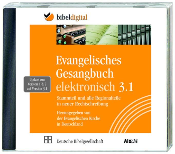Evangelisches Gesangbuch elektronisch, Update auf Version 3.1 - Coverbild