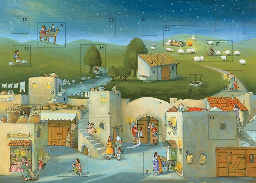Komm mit uns nach Bethlehem - Coverbild