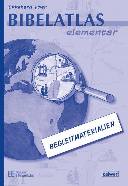 Bibelatlas elementar - Begleitmaterialien - Coverbild