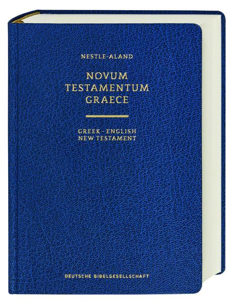 Novum Testamentum Graece (Nestle-Aland) - Coverbild