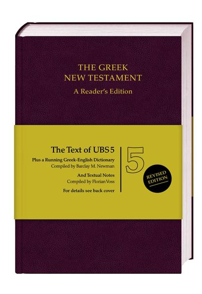 The Greek New Testament. A Reader's Edition - Coverbild