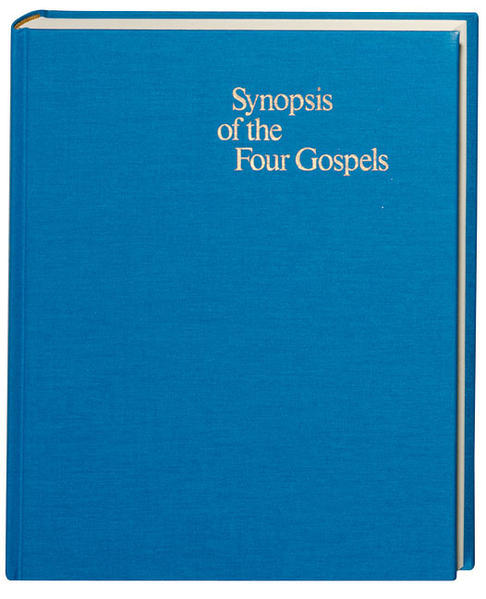 Synopsis of the Four Gospels - Coverbild