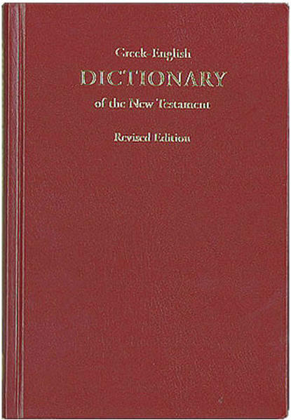A Concise Greek-English Dictionary of the New Testament - Coverbild