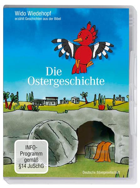Wido Wiedehopf erzählt Geschichten aus der Bibel: Die Ostergeschichte - Coverbild