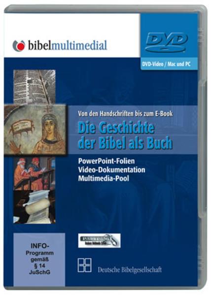Die Geschichte der Bibel als Buch - Coverbild