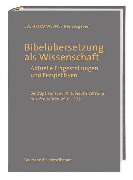 Bibelübersetzung als Wissenschaft - Coverbild