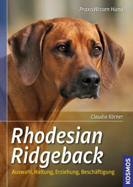 Rhodesian Ridgeback von Claudia Körner PDF Download