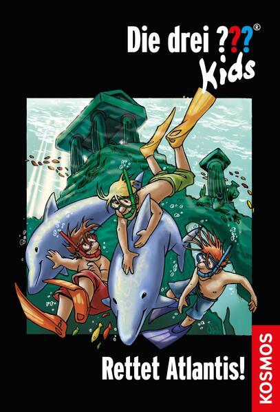 Die drei ??? Kids, 17, Rettet Atlantis! (drei Fragezeichen Kids) - Coverbild