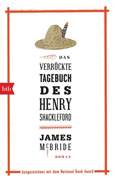Das verrückte Tagebuch des Henry Shackleford - Coverbild