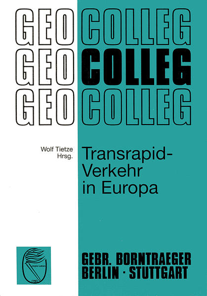 Transrapid-Verkehr in Europa - Coverbild