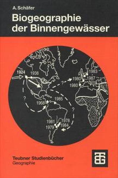 Biogeographie der Binnengewässer - Coverbild