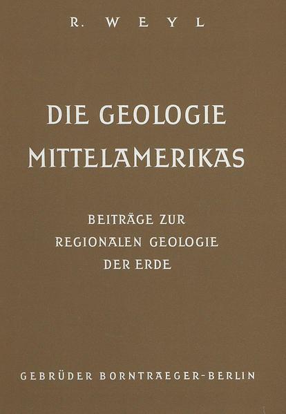 Die Geologie Mittelamerikas - Coverbild