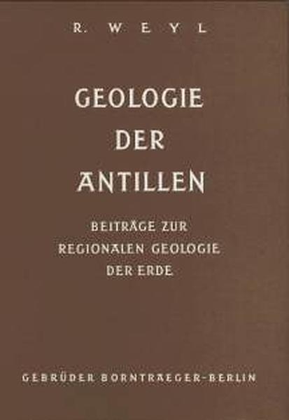 Geologie der Antillen - Coverbild