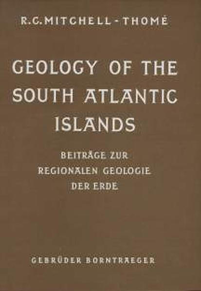 Geology of the South Atlantic Islands - Coverbild