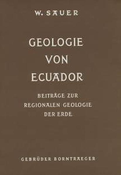 Geologie von Ecuador - Coverbild