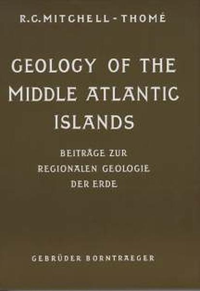 Geology of the Middle Atlantic Islands - Coverbild