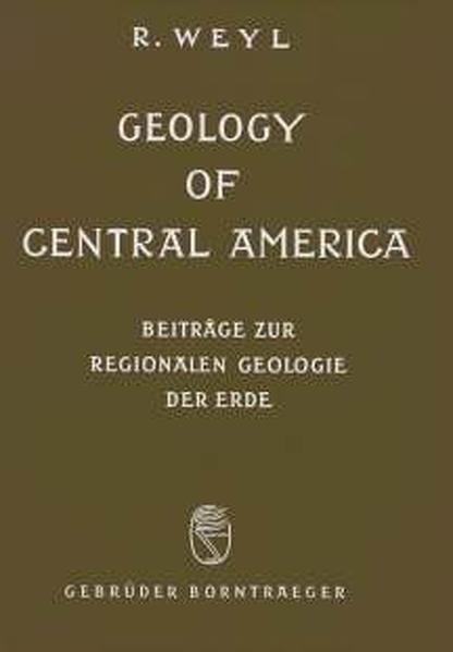Geology of Central America - Coverbild